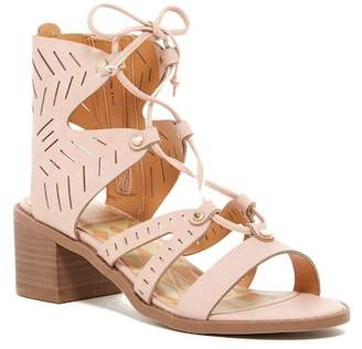 Dolce Vita Lyle Perforated Gladiator Block Heel Sandal (Little Kid & Big Kid)