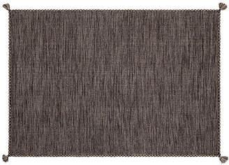 One Kings Lane Fairbairn Flat-Weave Rug - Gray