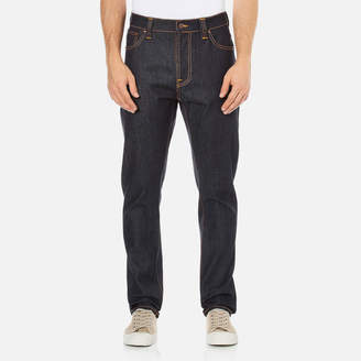 Nudie Jeans Men's Brute Knut Regular/Tapered Fit Jeans