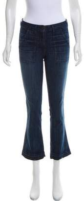 3x1 Distressed Mid-Rise Jeans