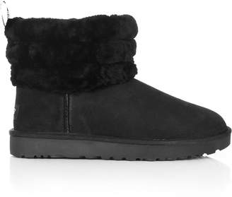 UGG Fluff Mini Quilted Classic LogoBoots