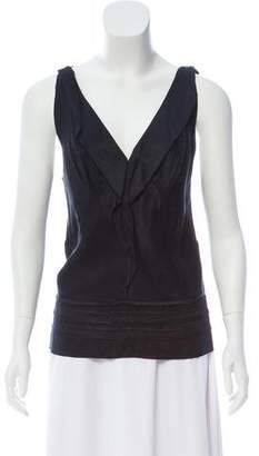 Marc Jacobs Satin Sleeveless Top