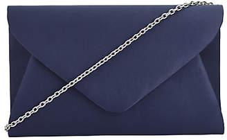 John Lewis Fiona Clutch Bag, Navy