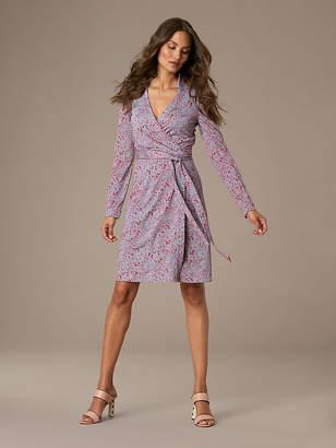 Diane von Furstenberg The New Jeanne Silk Jersey Wrap Dress