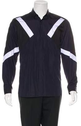 Neil Barrett Geometric Print Dress Shirt w/ Tags