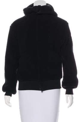 Y-3 Fleece Hooded Jacket