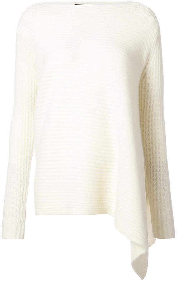 Derek Lam asymmetric hem sweater