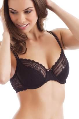 Chantelle Womens Merci Underwired Lace Bra Size Us Fr 90B