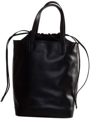Saint Laurent Small Teddy Shopping Bag In Shiny Leather