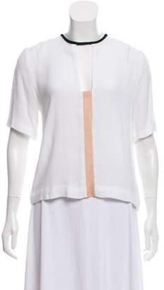 A.L.C. Cutout Short Sleeve Top
