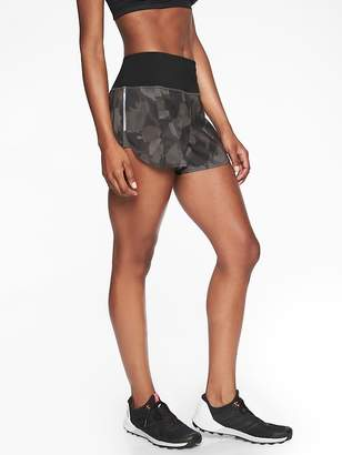 Athleta Run Free Printed Short 3.5''