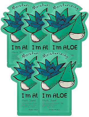 Tony Moly Tonymoly I'm Aloe Sheet Mask 5 Pack