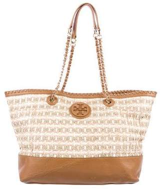 Tory Burch Marion Straw Tote