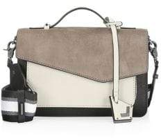 Botkier New York Cobble Hill Suede& Leather Satchel