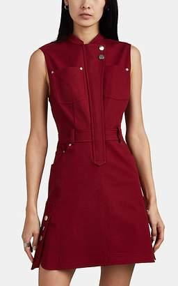 Derek Lam 10 Crosby Women's Half-Placket Minidress - Red