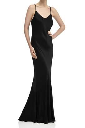 2b6b0d17ab2942 Ghost Womens London Black Bella Satin Dress - Black