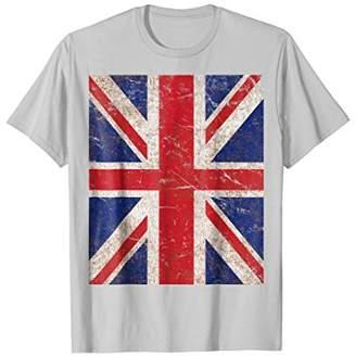 Vintage Union Jack Flag T-Shirt