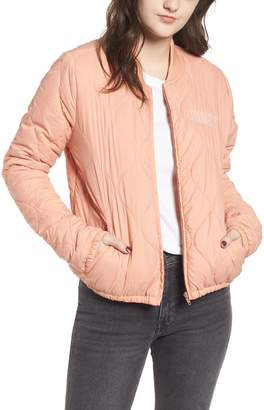 Obey Bunker Quilted Bomber Jacket