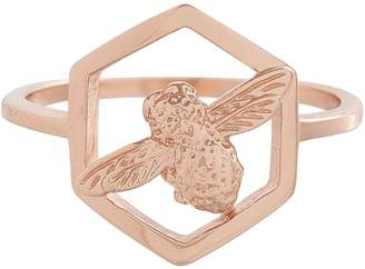 Olivia Burton Honeycomb Bee Ring