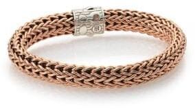 John Hardy Bronze & Sterling Silver Chain Link Bracelet