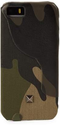 Valentino Camouflage iPhone Case- 5/5S