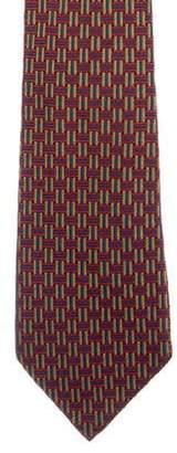 Charvet Basketweave Jacquard Silk Tie
