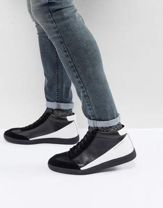 Religion Blind High Top Sneakers In Black