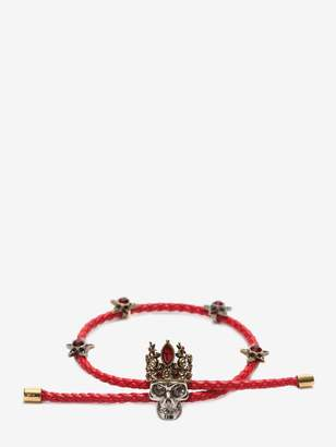 Alexander McQueen Queen Friendship Bracelet