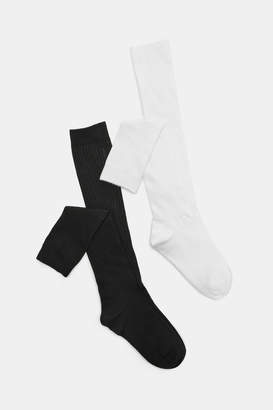 Ardene Pack of Ribbed Knee-High Socks