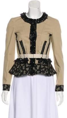 Bottega Veneta Embellished Structured Jacket w/ Tags