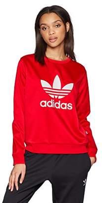 adidas Womens Trefoil Crew Sweater