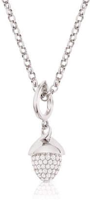 Tamara Comolli MIKADO FLAMENCO 18K White Gold Diamond Pendant