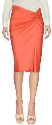 Cédric Charlier Knee length skirt