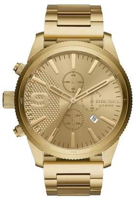 Diesel Men's Rasp Chrono Bracelet Watch, 50mm