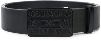 DSQUARED2 Dean XXL Dan buckle belt