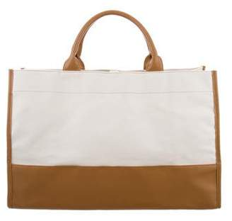 Nina Ricci Canvas & Leather Tote