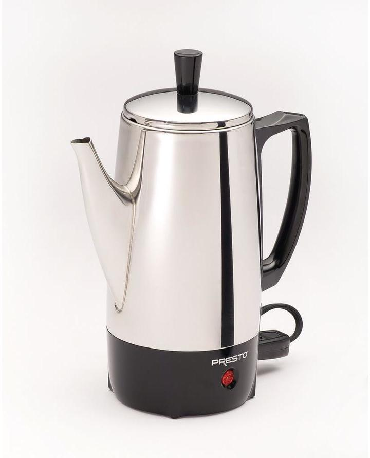 Presto 6-Cup Stainless Percolator