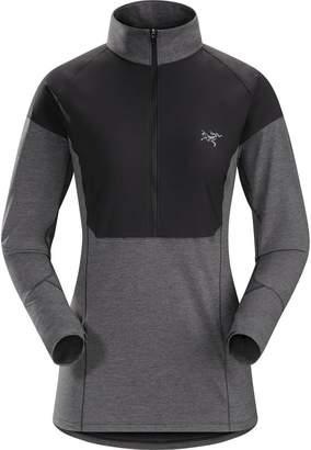 Arc'teryx Taema Zip-Neck Shirt - Women's