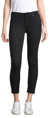 True Religion Halle Button Skinny Jeans