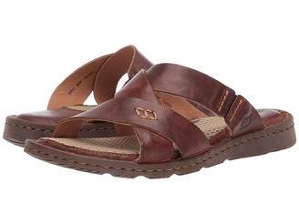 b11eb4a44518 Born Brown Leather Sandals For Women - ShopStyle