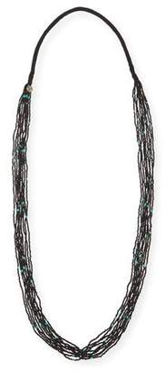 Chan Luu Multi-Strand Speckled Bead Necklace