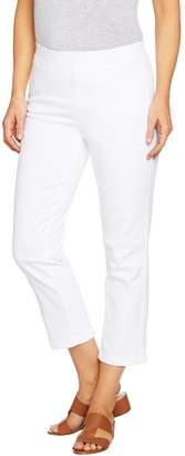 Denim & Co. Pull-on Stretch Crop Pant