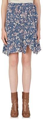 Isabel Marant Women's Becka Floral Silk-Blend Skirt