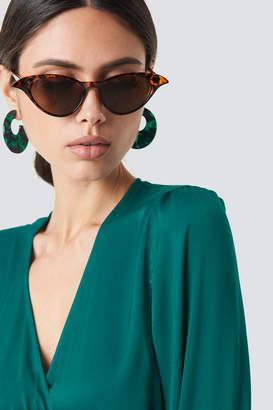 Cat Eye Na Kd Accessories Drop Edge Cateye Sunglasses