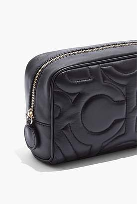 Country Road CR Quilted Cosmetic Case