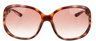 Jimmy ChooJimmy Choo Loop Logo-Accented Sunglasses