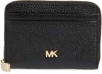 MICHAEL Michael Kors Money Piece Leather Zip Around Wallet