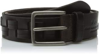 John Varvatos Men's 38mm Woven Belt
