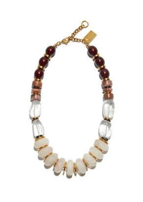 Lizzie Fortunato Tuscan Quartz Necklace