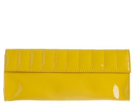 Patent-leather clutch